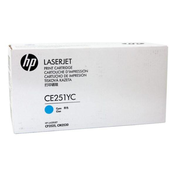 Toner HP 504YC   CE251YC