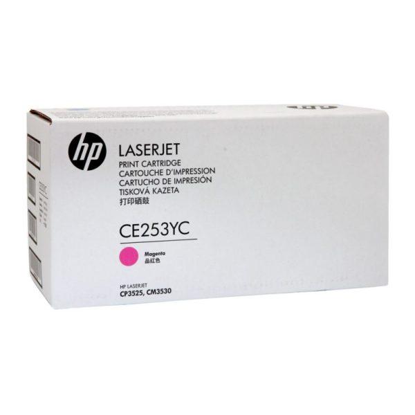 Toner HP 504YC   CE253YC