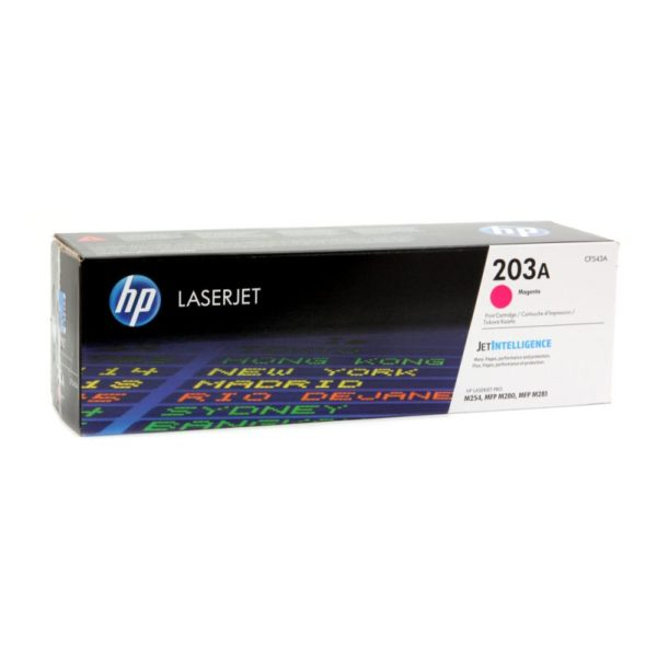 Toner HP 203A | CF543A
