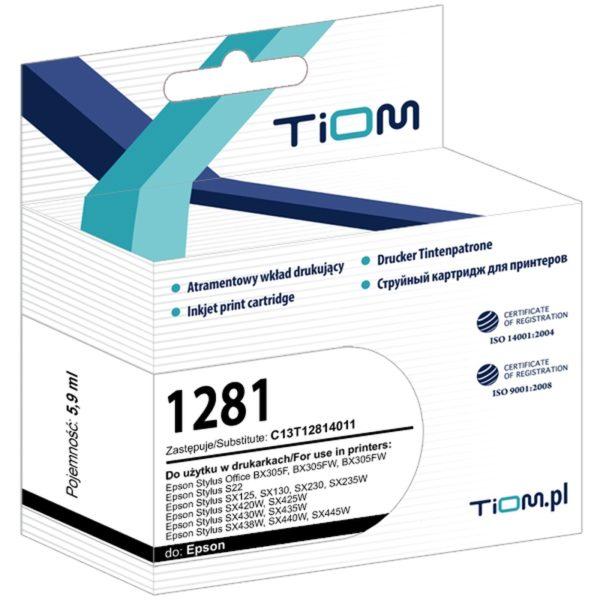 Tusz zamiennik Epson T1281 C13T12814011 Black