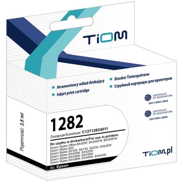 Tusz zamiennik Epson T1282 C13T12824011 Cyan