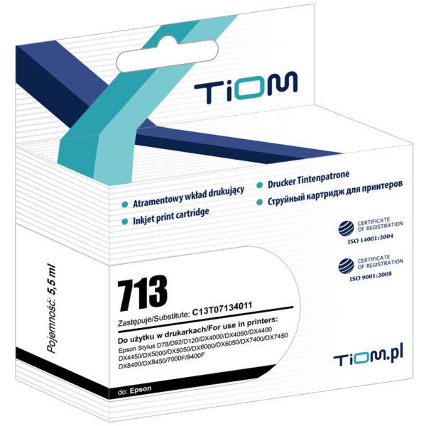 Tusz zamiennik Epson T0713 C13T07134011 Magenta