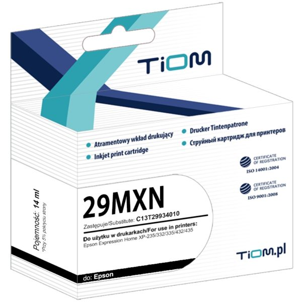 Tusz zamiennik Epson 29 XL T2993 C13T29934010 Magenta