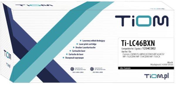 Toner TiOM zamiennik Canon 046H | CRG046HK | 1254C002