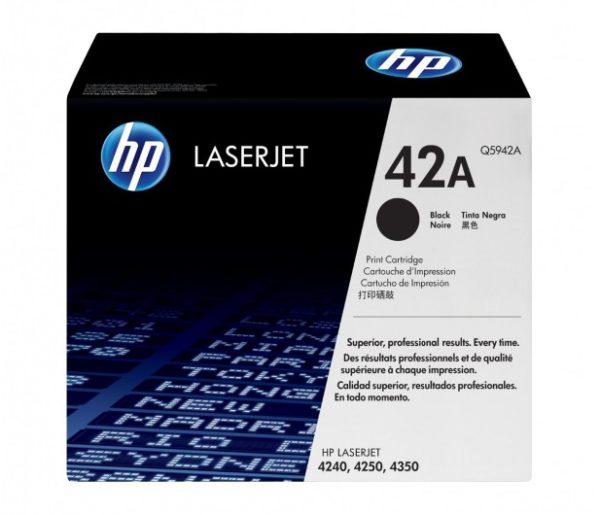 Toner HP 42A   Q5942A