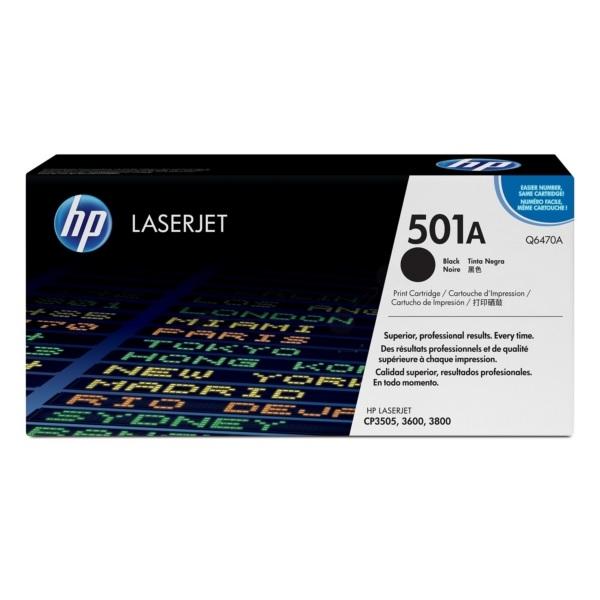 Toner HP 501A | Q6470A