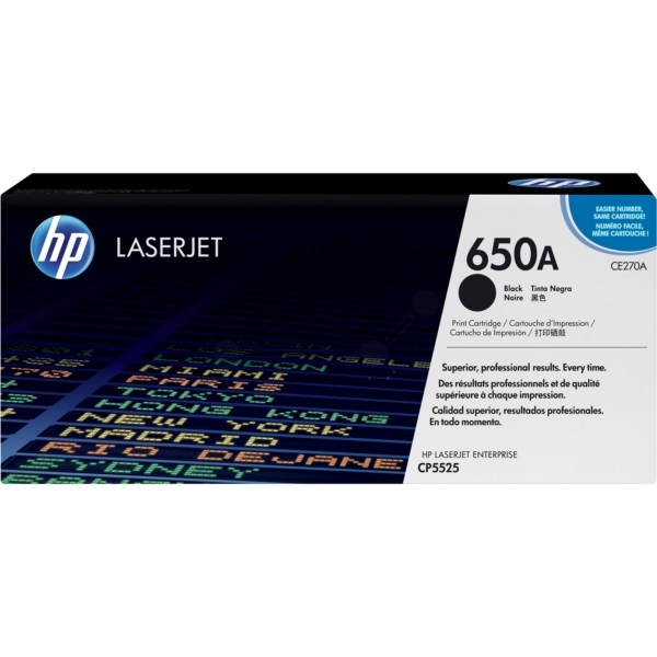 Toner HP 650A | CE270A