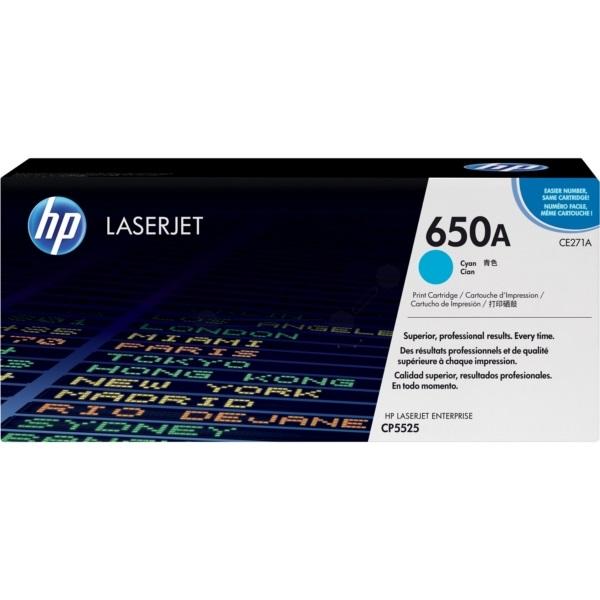 Toner HP 650A | CE271A