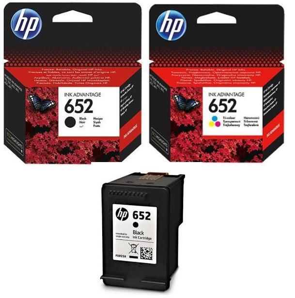 Tusze HP 652
