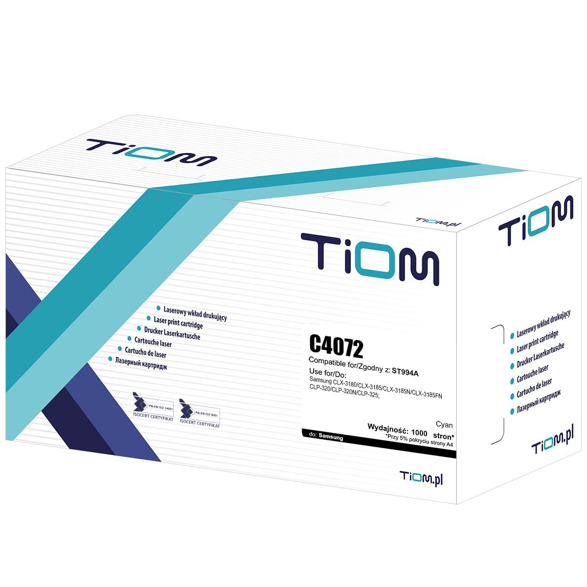 Toner zamiennik Samsung C4072 | CLT-C4072S| ST994A
