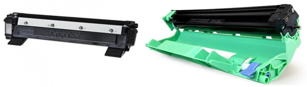Zestaw Toner Laserowy Z Bebnem OPC