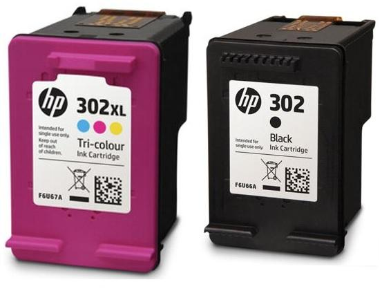 HP 302 BK 3C