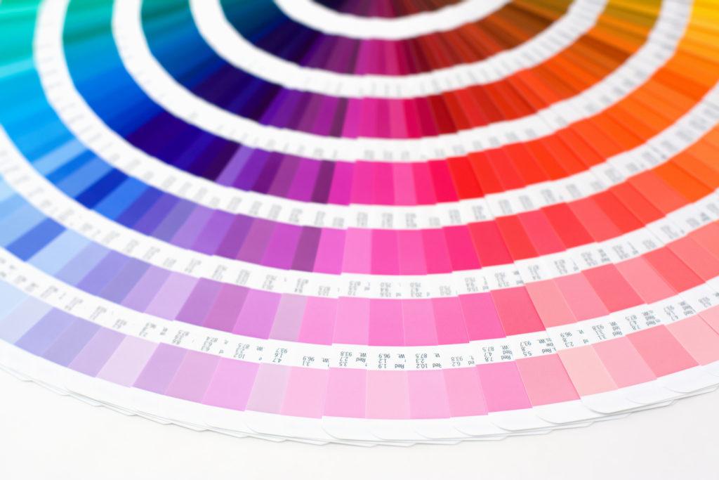 kolorowy druk