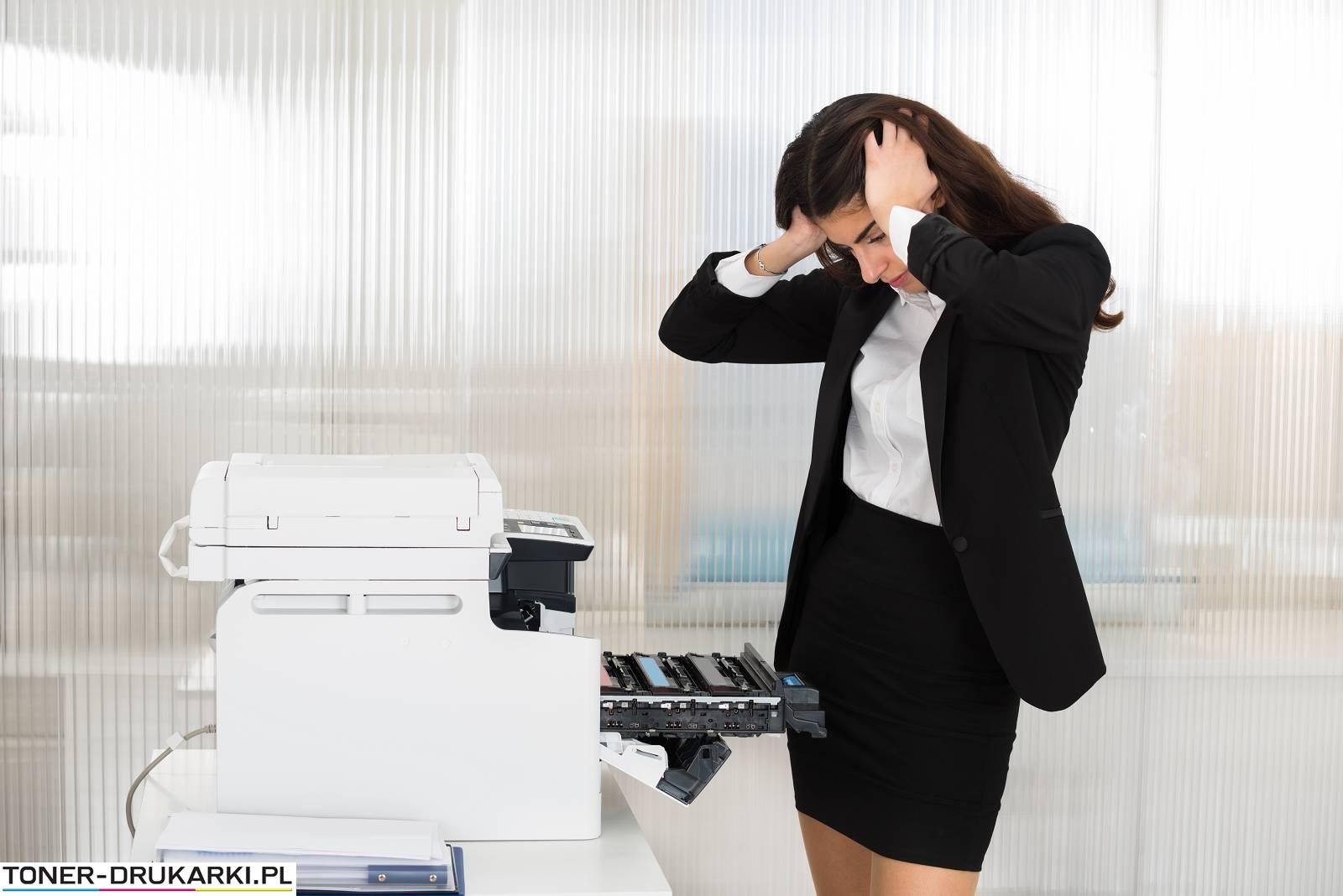 Problemy podczas drukowania
