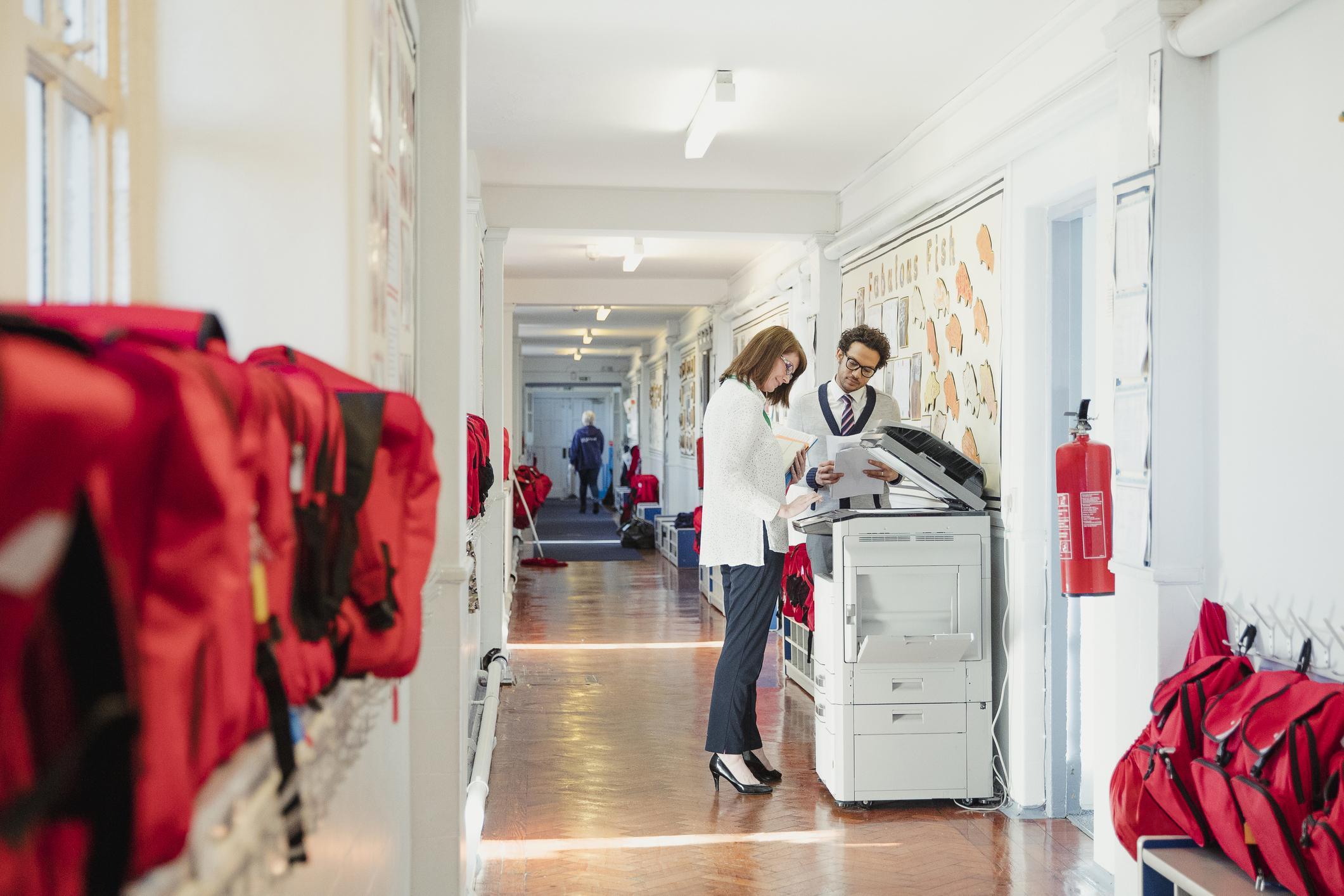drukarka w szkole