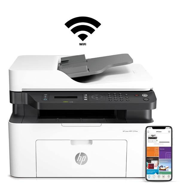 Drukarka HP LASER 137 fnw druk bezprzewodowy Wifi
