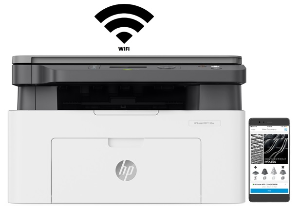 Drukarka HP LASER MFP 135w druk bezprzewodowy Wifi