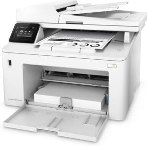 HP LaserJet Pro M227fdw - formaty papieru