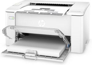 HP LaserJet m102a - formaty papieru
