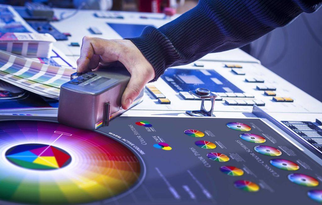 Kolory podczas druku CMYK