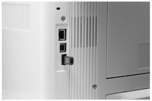 HP LaserJet PRO M501dn sieć